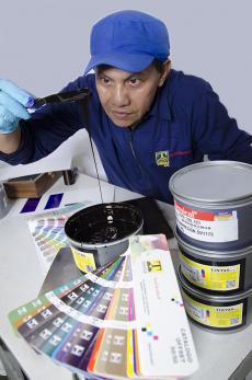 preparacion de tintas